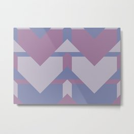 Violet Directions #society6 #violet #pattern Metal Print