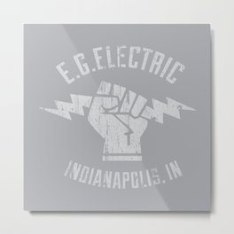 EG Electric Indy Metal Print
