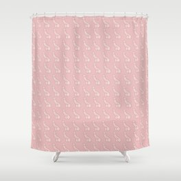 Pretty in Pink Penis, Male Anatomy Shower Curtain