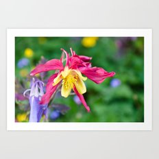 Dragon Flower  Art Print
