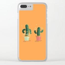 CACTUS BAND / Caixa & Maracas Clear iPhone Case