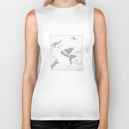 For the Birds Biker Tank