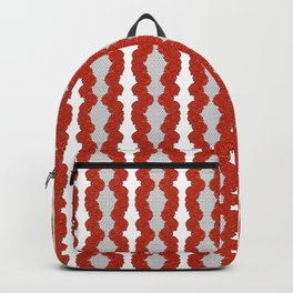 Australian Native Floral Striped Print Backpack