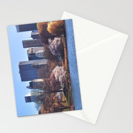 Central park colors Stationery Cards