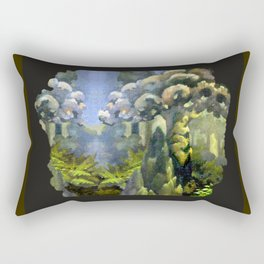Tarairi Forest Morning Rectangular Pillow
