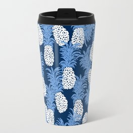 different pineapples Travel Mug