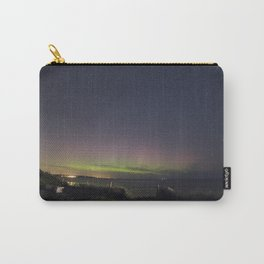 Aurora over Rockport Harbor Carry-All Pouch
