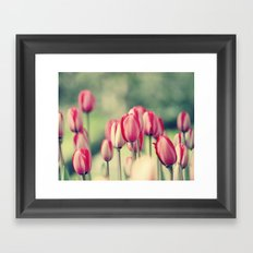 The Garden Framed Art Print