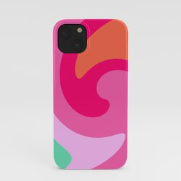 Gelato Colors in a Whirl iPhone Case