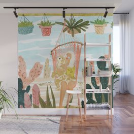 Desert Home Wall Mural