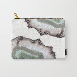 Light Water Agate Carry-All Pouch