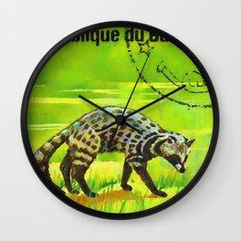 African Civet Civettictis Civetta Wall Clock