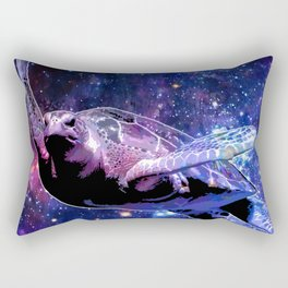 A Sea Turtle's Dream In Space Rectangular Pillow