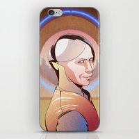 fifth element iPhone & iPod Skins featuring Chaos (Zorg - The Fifth Element) by Pana Stamos