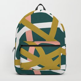 Abstract Lines 02B Backpack