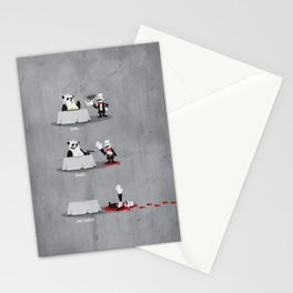 Eating Habits of the Panda Stationery Cards