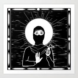 Patron Saint of Riots Art Print