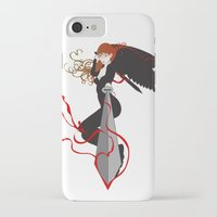 justice league iPhone & iPod Cases featuring Justice by Stevyn Llewellyn