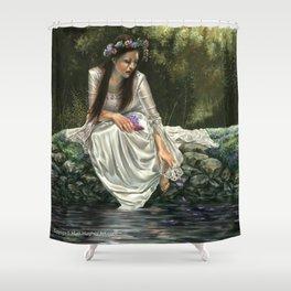 Ophelia's Lament Shower Curtain