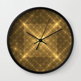 The Peaceful Pyramid Wall Clock