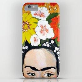 My Frida's Flowers iPhone Case