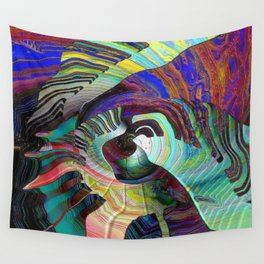 Keys To The Soul Wall Tapestry