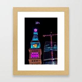 Denver Clock Tower Framed Art Print