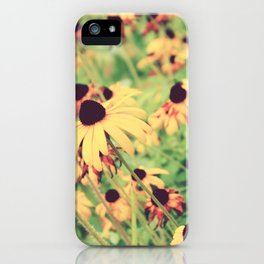Rudbeckia - Cone Flower - JUSTART © iPhone Case