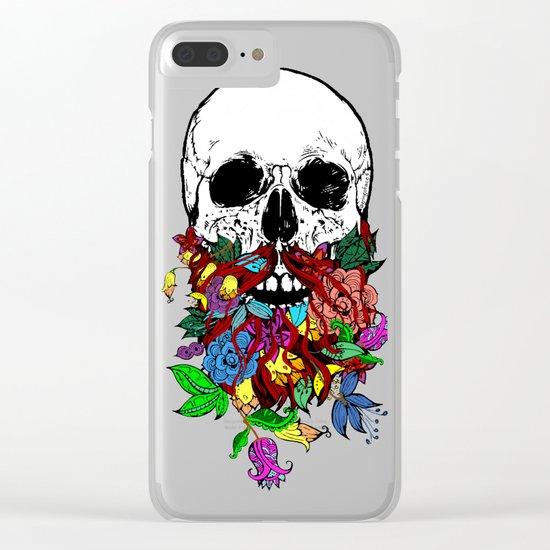Beardtanical Clear iPhone Case