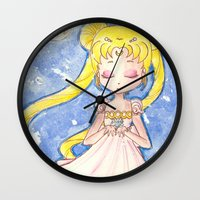 serenity Wall Clocks featuring Serenity by Lilolilosa