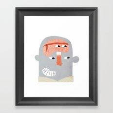 Karate Framed Art Print