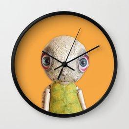 Sheldon The Turtle - Orange Wall Clock