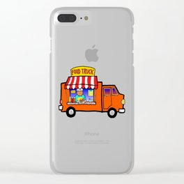 Street Food Truck Clear iPhone Case