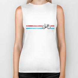 Cyclist Flag Luxembourg Duchy LU Bike Racing Black Biker Tank