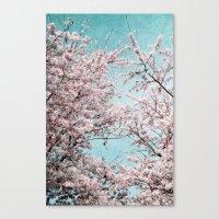 sakura Canvas Prints featuring Sakura by Iris Lehnhardt