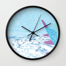 Mountain Trip Wall Clock