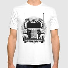 jeep ni erap Mens Fitted Tee MEDIUM White
