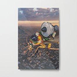 Cockroach Airways Metal Print