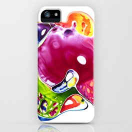 Let's not think and just be birds iPhone Case