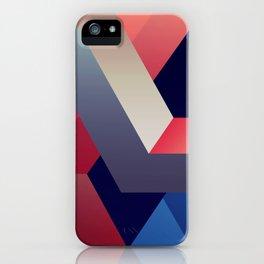 geometric abstract II iPhone Case
