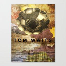 Waits Gramophone Canvas Print
