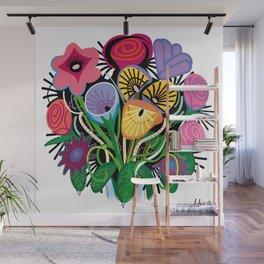 Yelapa Flowers Wall Mural