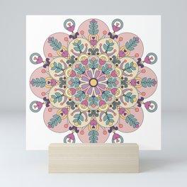 Happiness is Now Mandala Mini Art Print