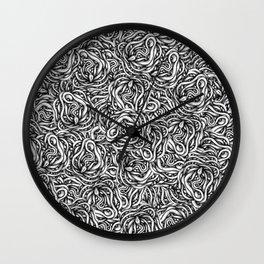 Infinite Snake Pattern Wall Clock