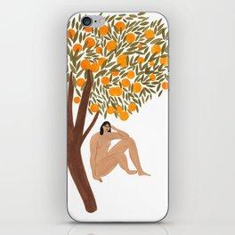 Sous l'Oranger iPhone Skin