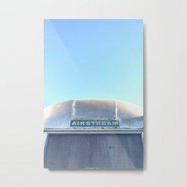 Airstream, Top View Metal Print