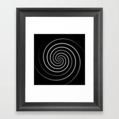 Licorice Swirl Framed Art Print