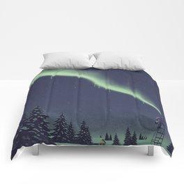 Winter Painting Comforters
