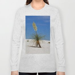 Living In The White Sand Dunes Long Sleeve T-shirt