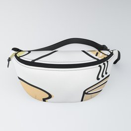 Breakfast Icons Fanny Pack